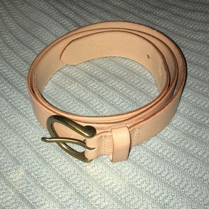 nwot madewell perfect leather belt b3052